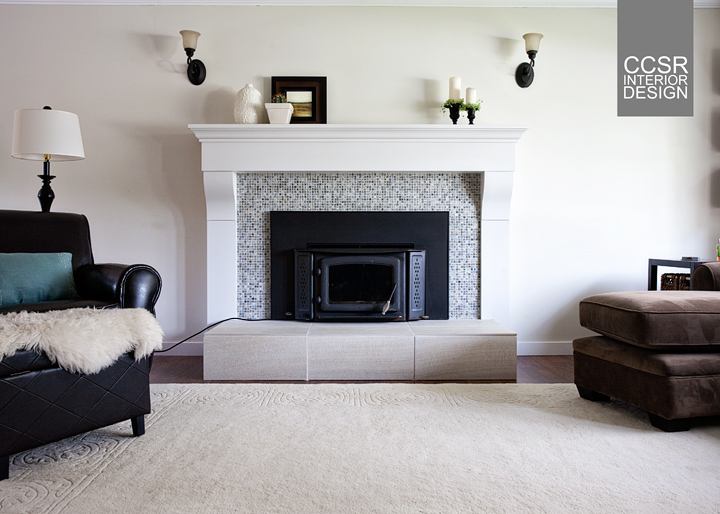 Update After Photo Of Ugly Brick Fireplace Ccsrinteriordesign