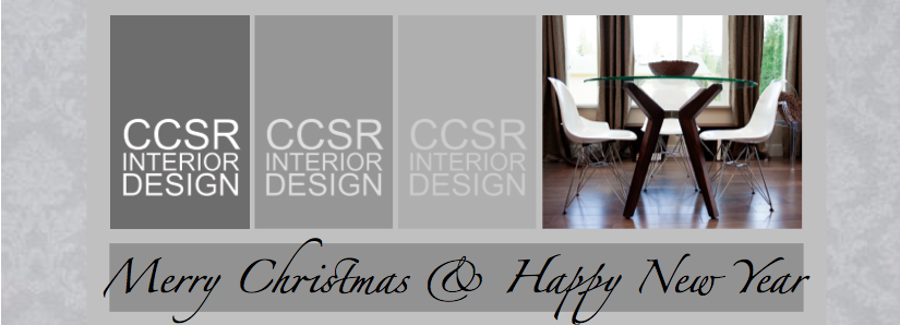 Ccsrinteriordesign: Merry Christmas & Happy New Year